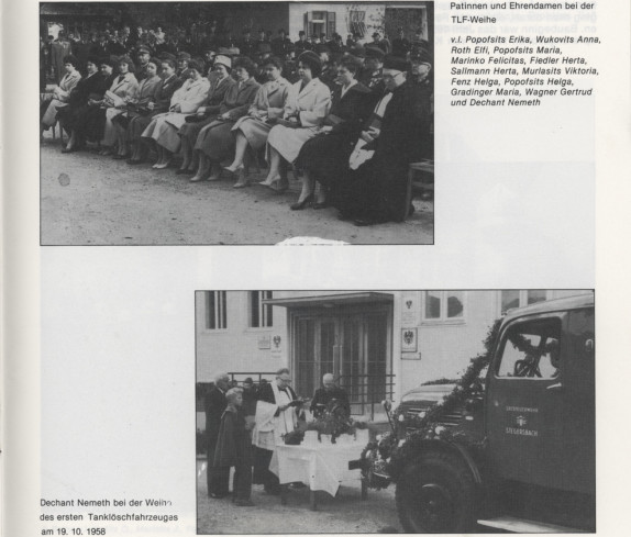 Freiwillige Feuerwehr Stegersbach 100 Jahre 1879 - 1979 Broschüre Seite 45